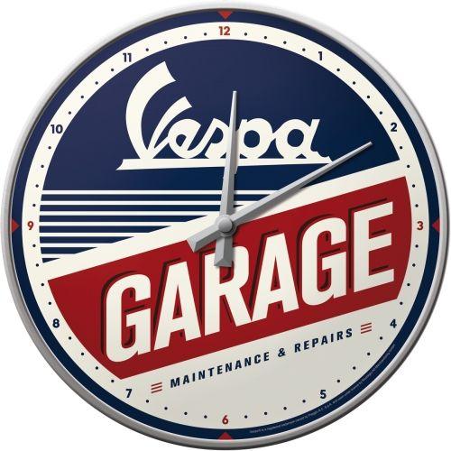 51090-Vespa-Wanduhr-Garage-Nostalgic-Art-wms24de