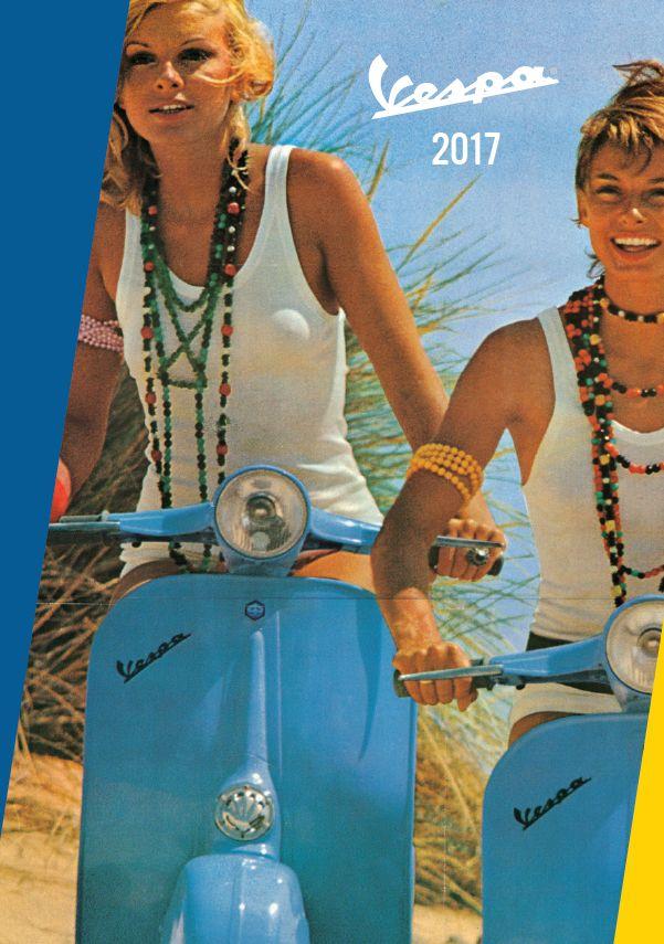 Katalog-Vespa-2017-Merchandise-Forme-Vento-Deckblatt